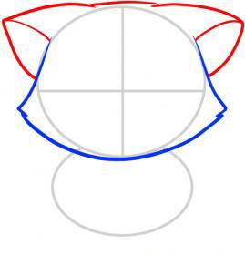 2011111623155089 Как нарисовать котенка с милыми глазками поэтапно карандашом для детей и начинающих? Как нарисовать котенка аниме, вислоухого, сиамского, спящего?