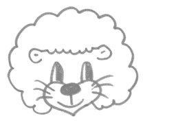Рисуем львенка за 30 сек - шаг 6