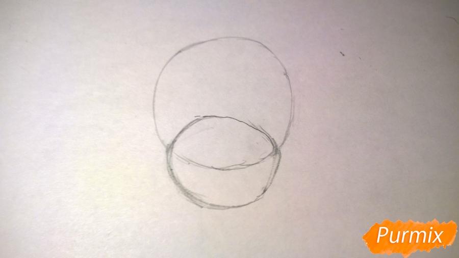 Рисуем единорожку для детей - шаг 2