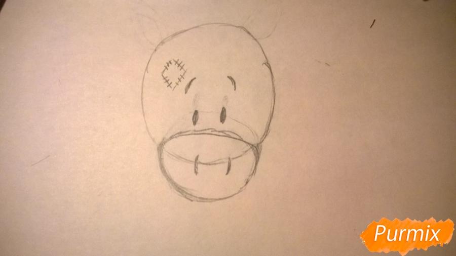 Рисуем единорожку для детей - шаг 3