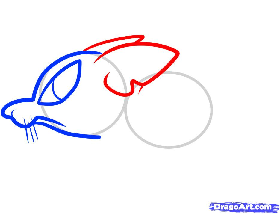 Рисуем симпатичную крысу ребенку - шаг 4