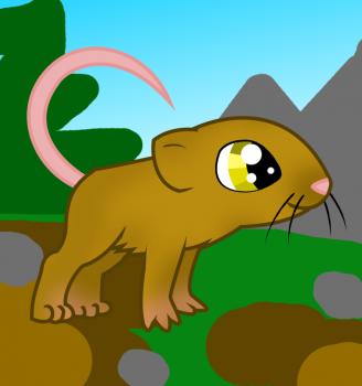 Рисуем симпатичную мышку ребенку