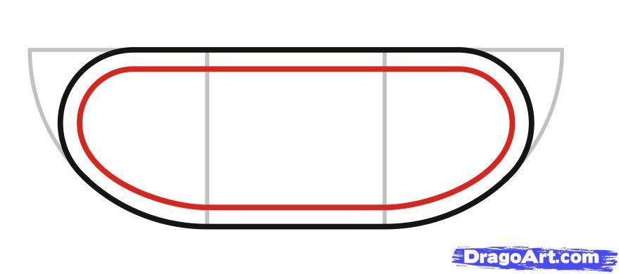 Как просто нарисовать танк ребенку - шаг 3