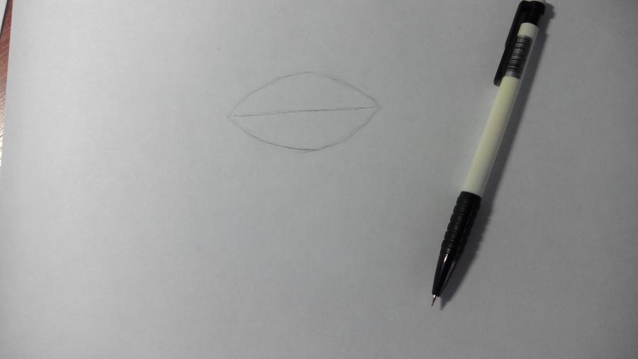 Рисуем и раскрашиваем лисичку в шарфике  детям (подробный урок) - шаг 2