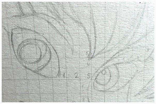 Рисуем фею Динь-Динь карандашами - шаг 2