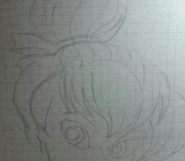 Рисуем фею Динь-Динь карандашами - шаг 5