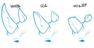 Рисуем носорога - шаг 1
