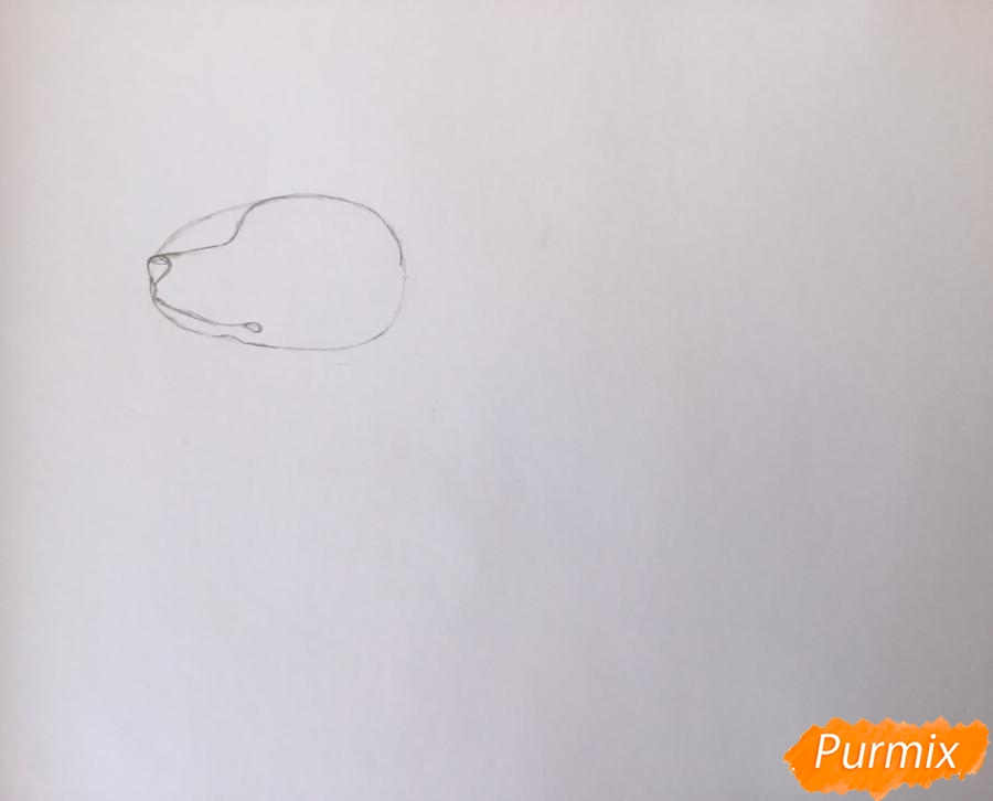 Рисуем Далматинца в полный рост - шаг 2