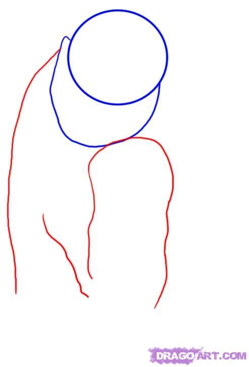 Рисуем Белого медведя