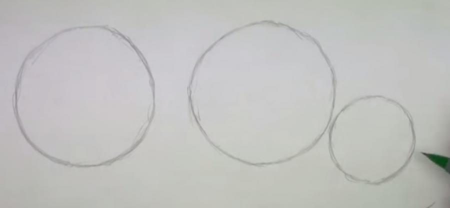 Рисуем бегемота - шаг 1