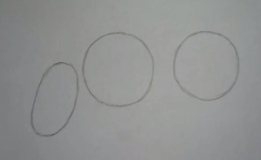 Рисуем носорога простым - шаг 1