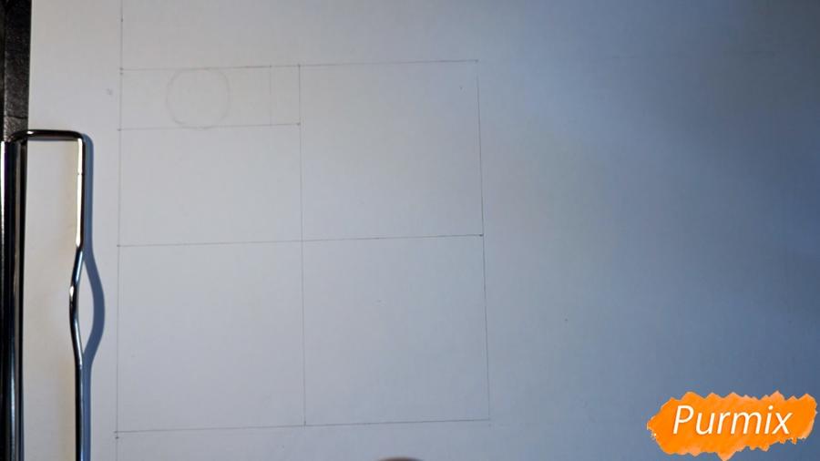 Учимся рисовать Велоцираптор - шаг 2