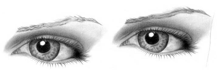 Учимся рисовать глаза человека - шаг 11