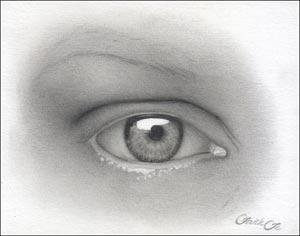 Рисуем реалистичный глаз девушки - шаг 10