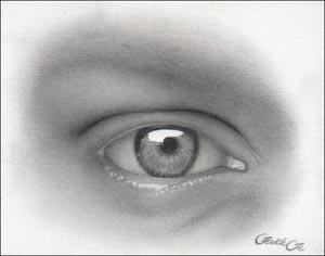 Рисуем реалистичный глаз девушки - шаг 11