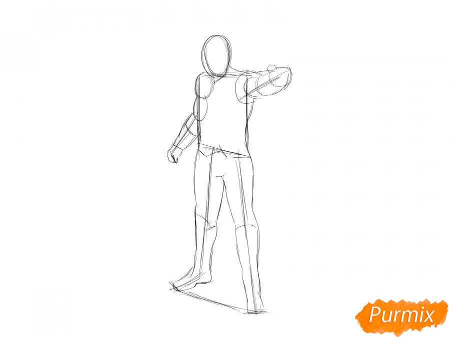 Рисуем Тора - шаг 3