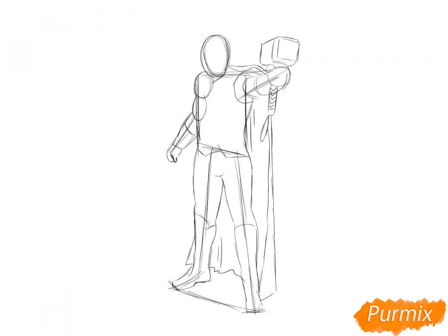 Рисуем Тора - шаг 4