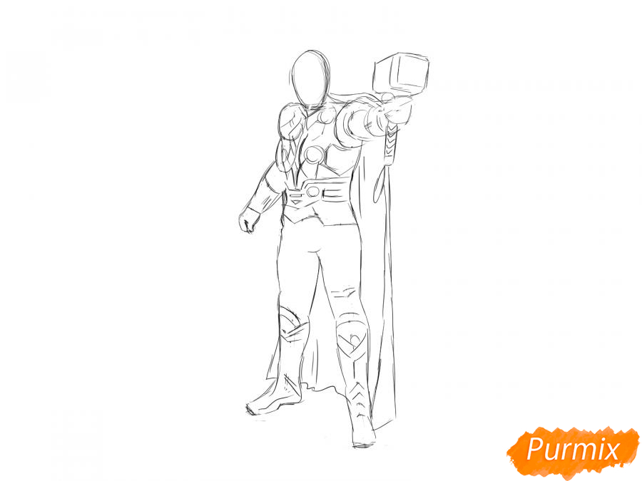 Рисуем Тора - шаг 5