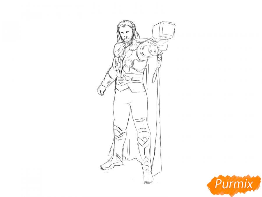 Рисуем Тора - шаг 6