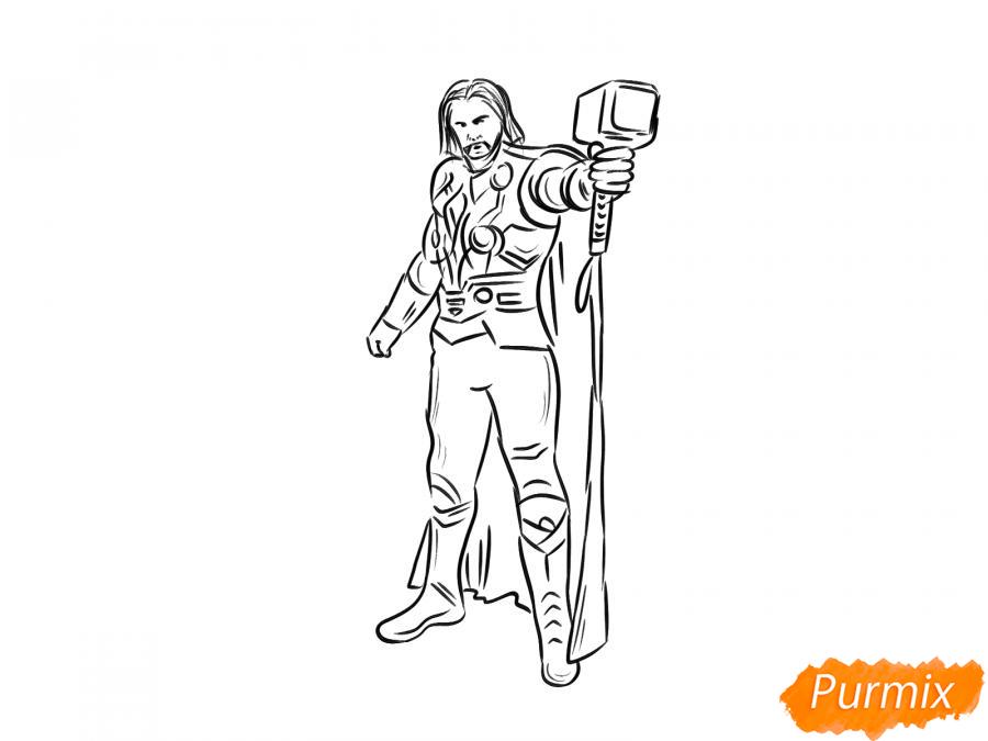 Рисуем Тора - шаг 7