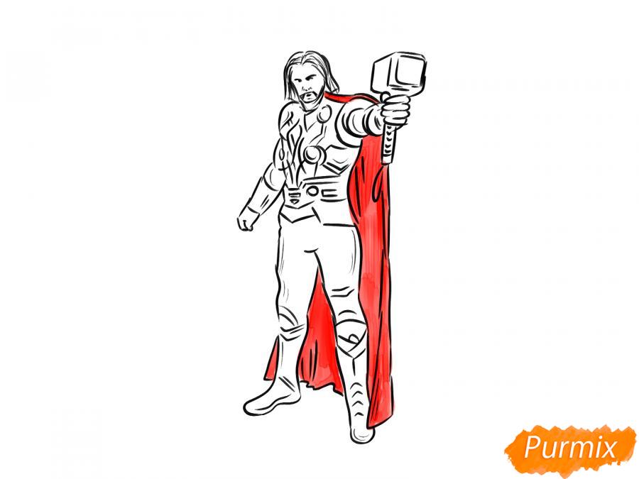 Рисуем Тора - шаг 8