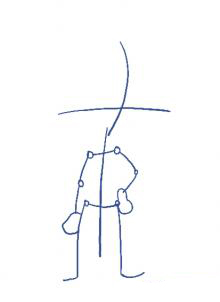 Рисуем Арнольда - шаг 1