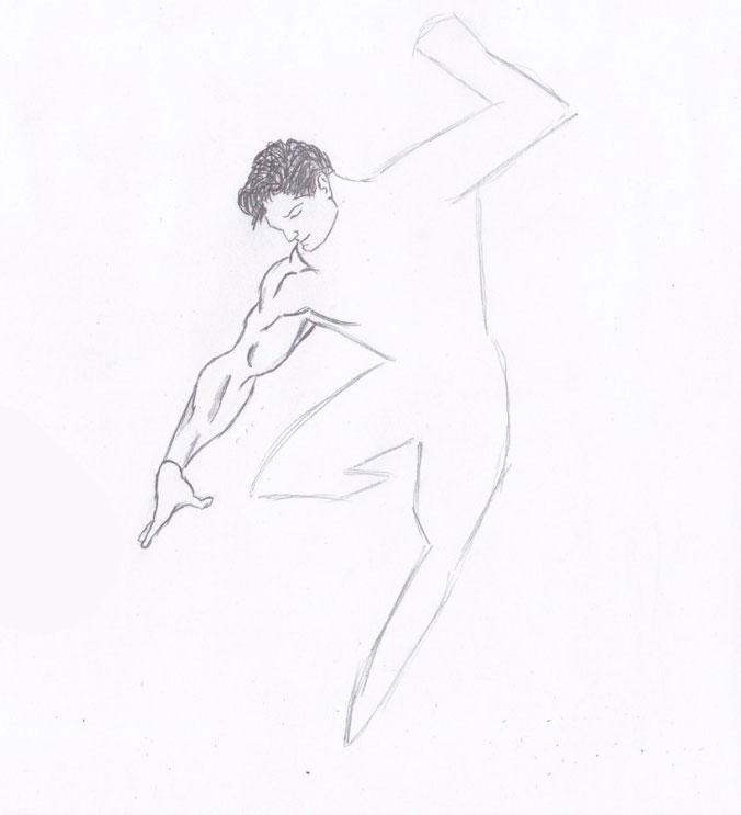 Рисуем Человека из стали - шаг 4