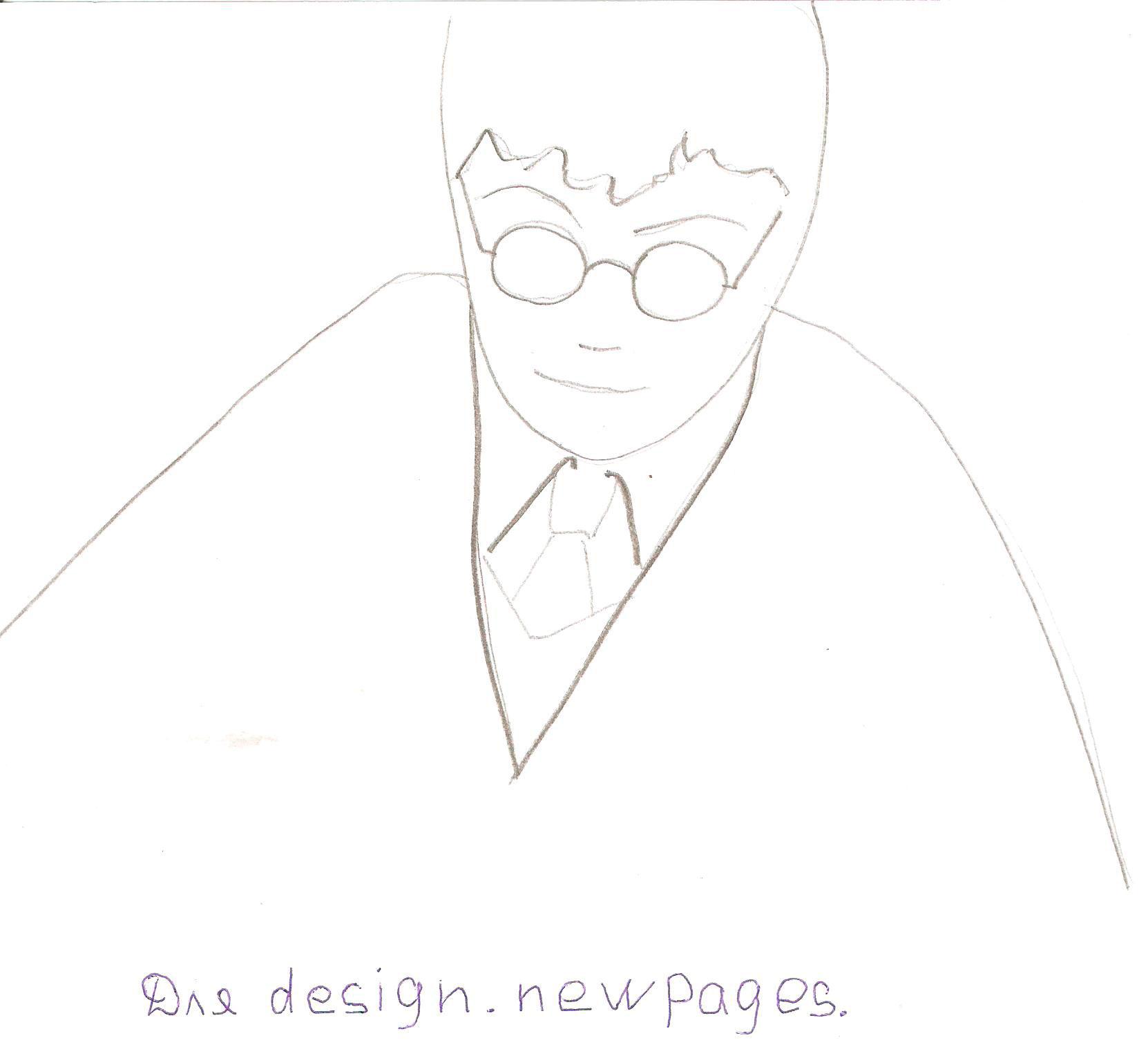 Рисуем Гарри Поттера - шаг 2