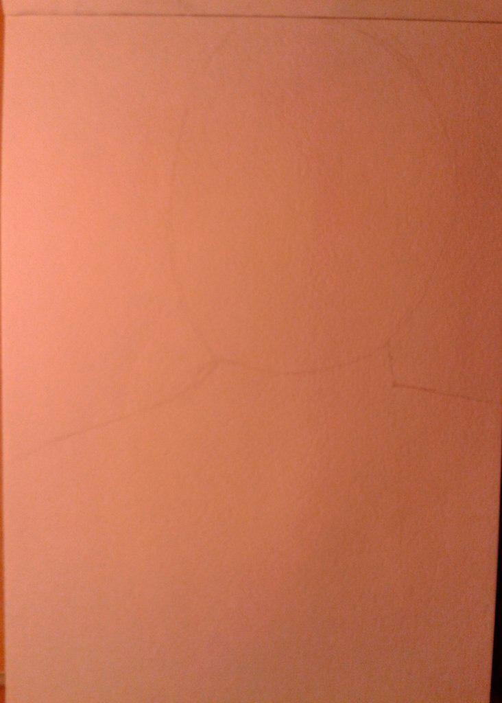 Рисуем лицо железного человека - шаг 1
