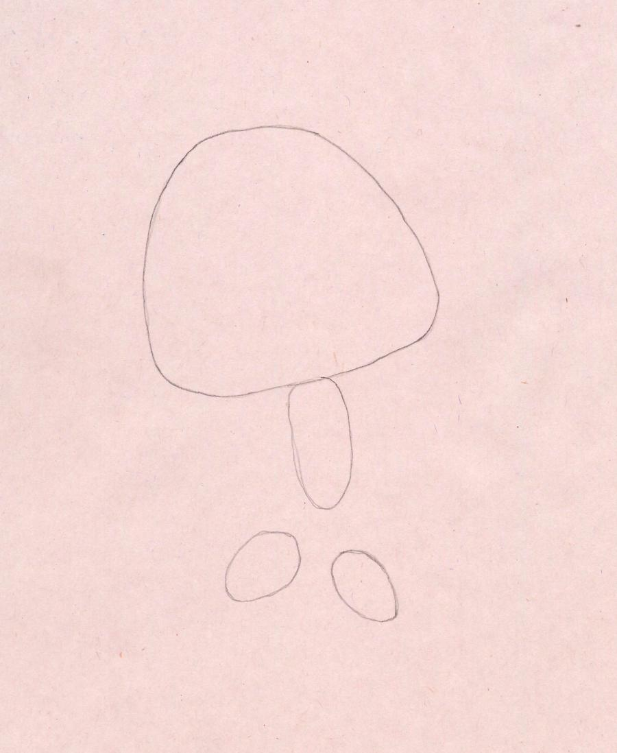 Рисуем Симку из Фиксиков - шаг 1