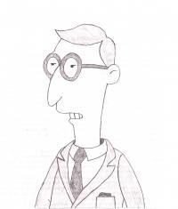 Синеволосого адвоката из мультсериала Симпсоны