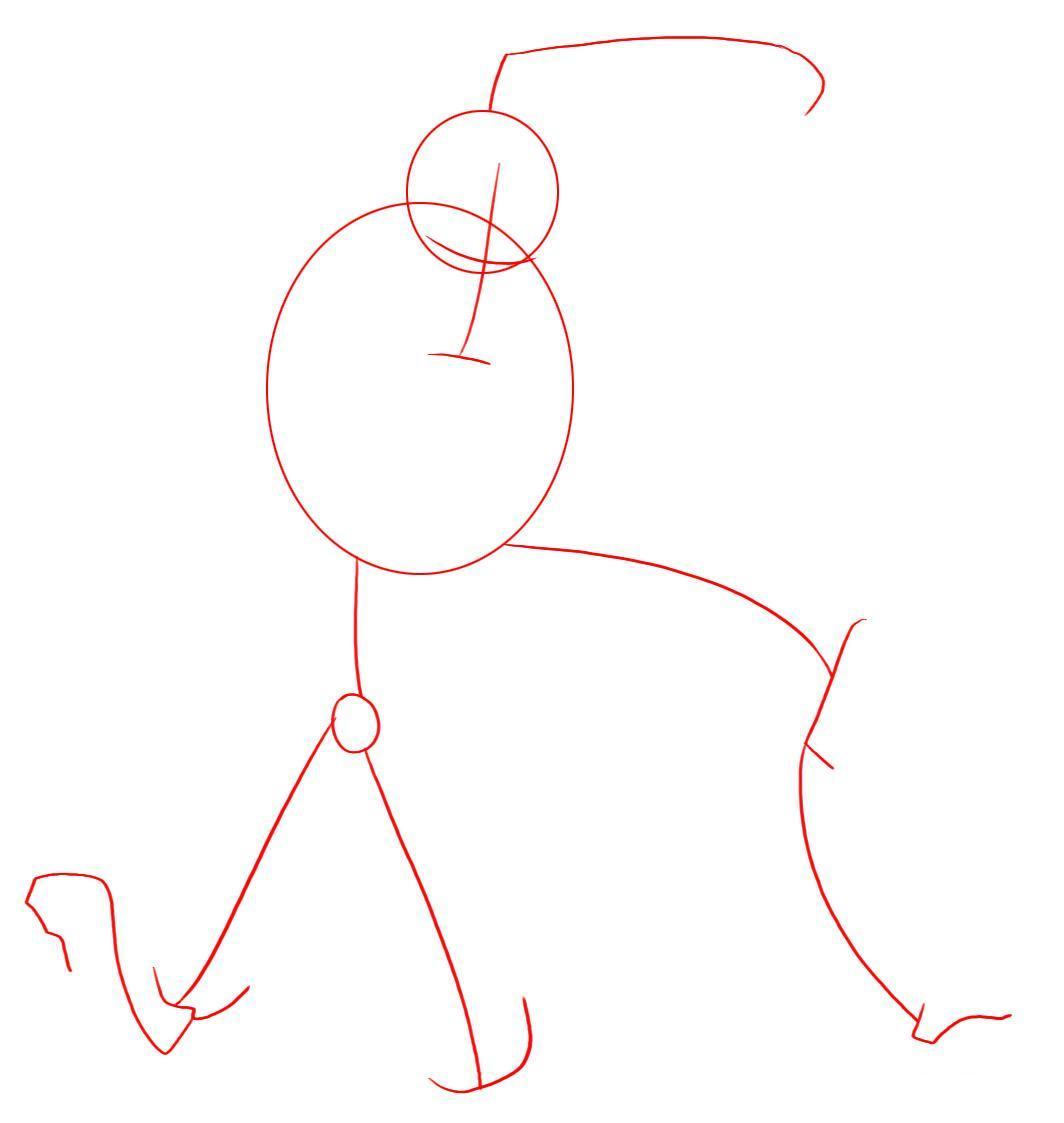 Рисуем лего железного человека - шаг 1