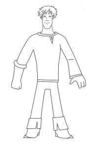Как просто нарисовать Ивана Царевича карандашом