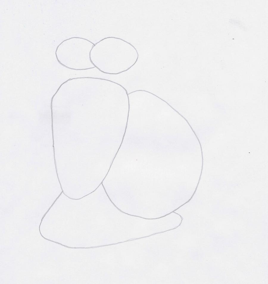 Рисуем Турбо легко - шаг 1