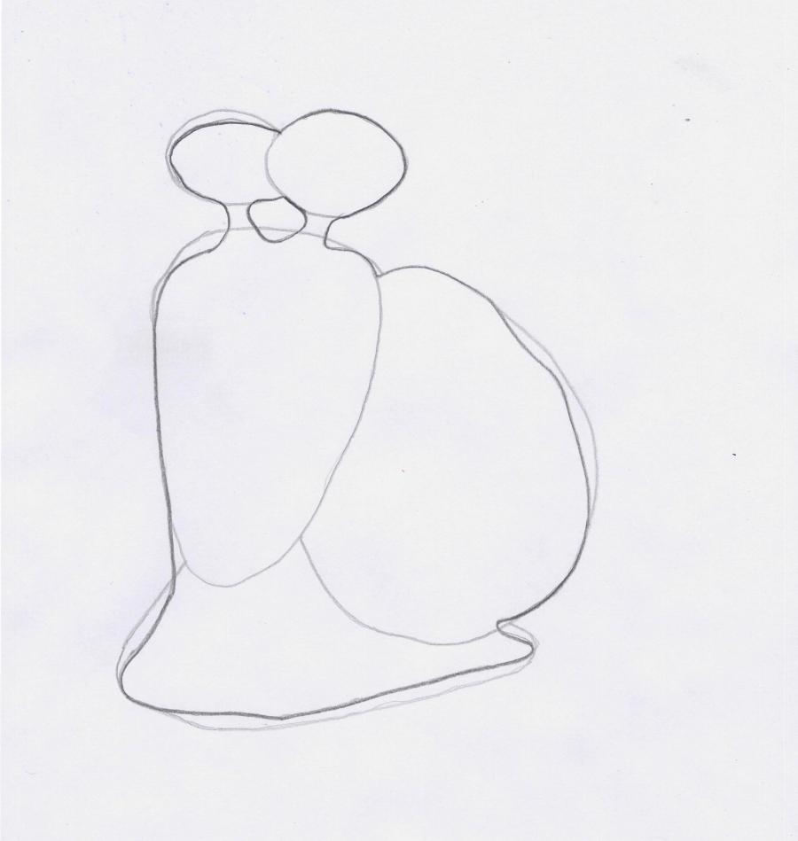 Рисуем Турбо легко - шаг 2