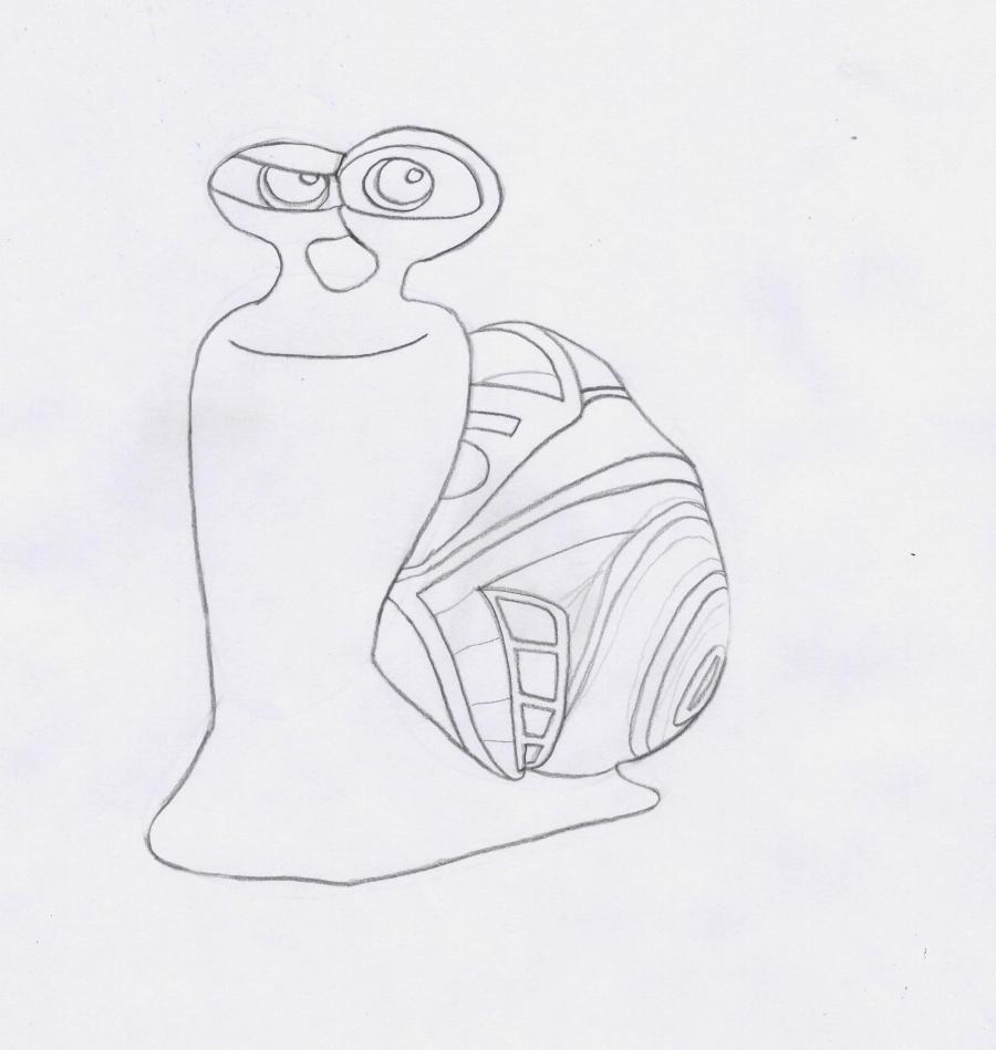 Рисуем Турбо легко - шаг 5