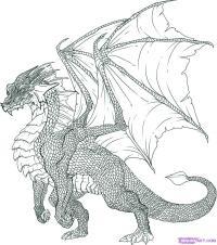 дракона, пошаговая инструкция