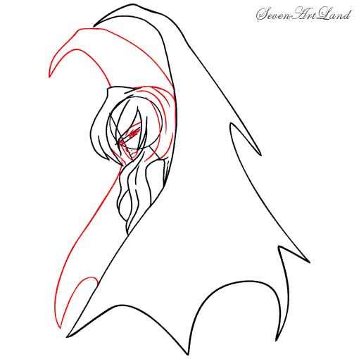 Рисуем Готического ангела