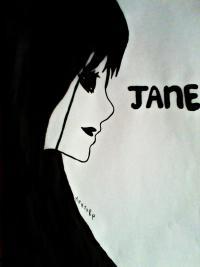 убийцу Джейн карандашом