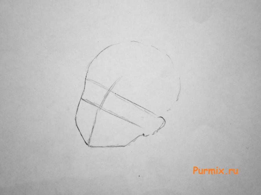 Рисуем милую Дракулауру - шаг 1