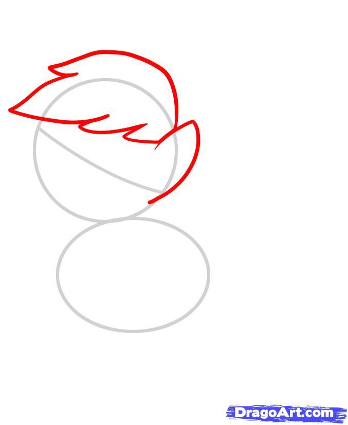 Рисуем пони Эпплджек из Дружба - это чудо - шаг 2