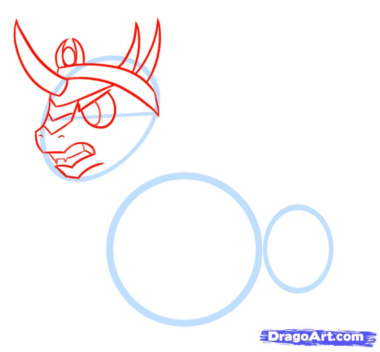 Рисуем Короля Сомбра (King Sombra) из MLP