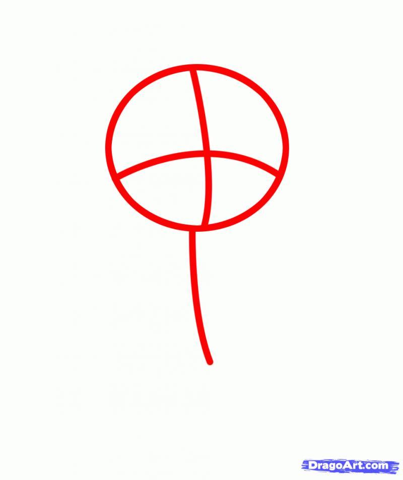 Рисуем Пинки Пай в виде человека - шаг 1