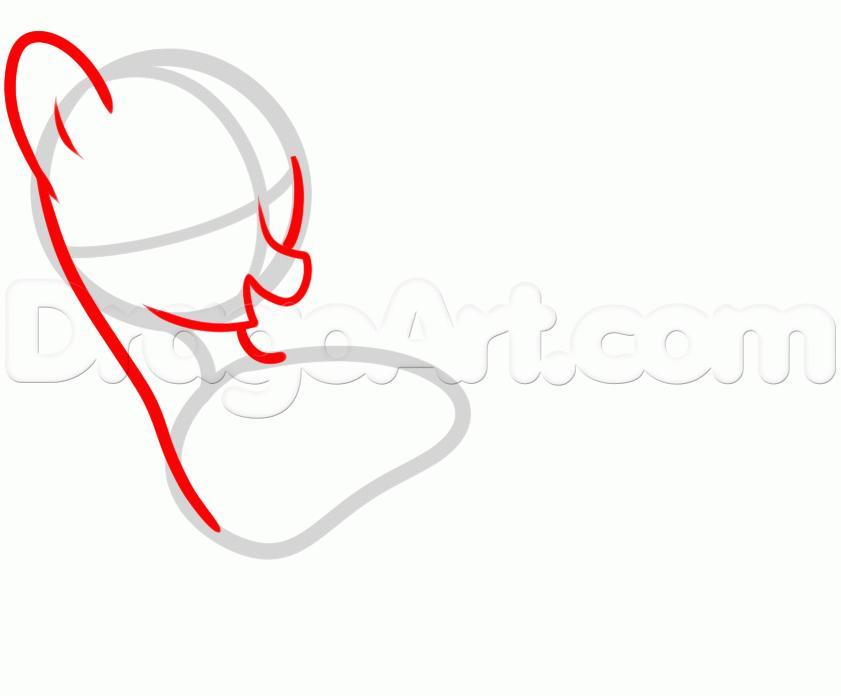 Рисуем пони Твайлайт Спаркл из Дружба — это чудо - шаг 2