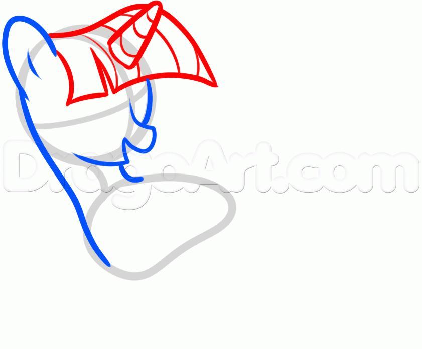Рисуем пони Твайлайт Спаркл из Дружба — это чудо - шаг 3