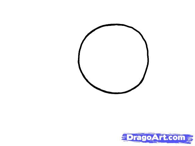 Рисуем портрет пони Флаттершай - шаг 1