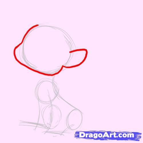Как рисовать пони в наушниках - шаг 2