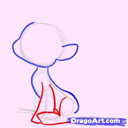 Как рисовать пони в наушниках - шаг 4