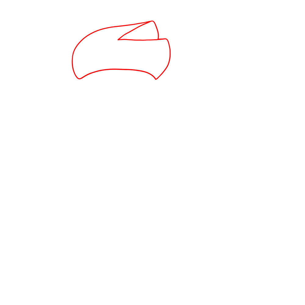 Рисуем Амбер из Бравл Старс - шаг 1