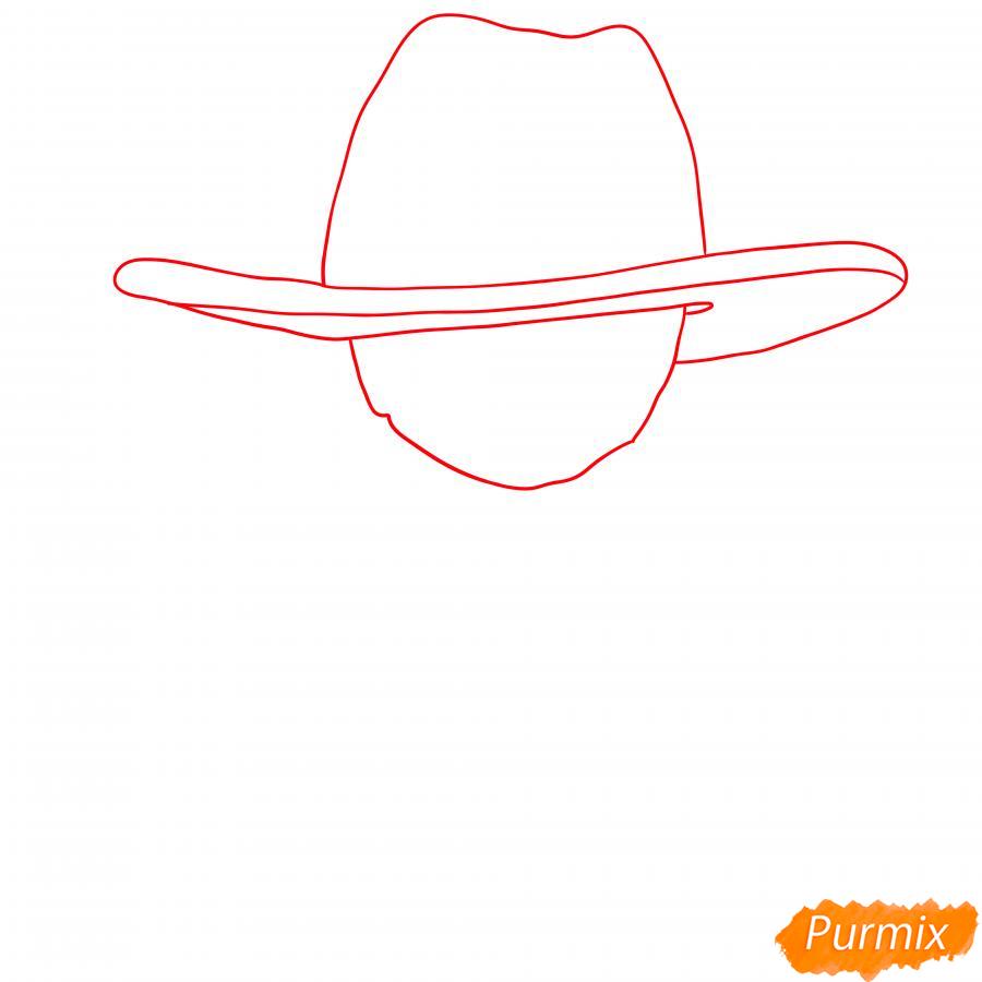 Рисуем Бедовую Тару - шаг 1
